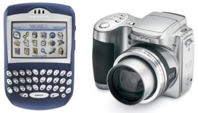 Blackberry 7290 and Kodak EasyShare Z740
