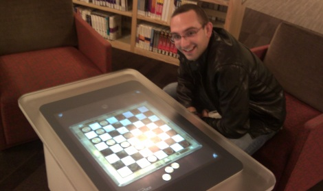 Surface Checkers